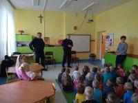 Policjanci wPrzedszkolu