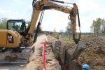 Budowa oczyszczalni ścieków ikanalizacji sanitarnej wSiedliskach