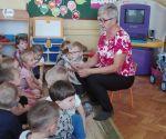 Spotkanie zemerytowaną nauczycielką