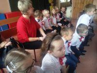 Przedszkolaki śpiewały oojczyźnie